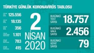 Türkiye'de corona virüsten can kaybı 79 artarak 356 oldu