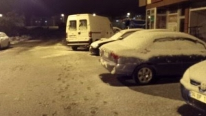 Ardahan'a mayıs ayında kar sürprizi