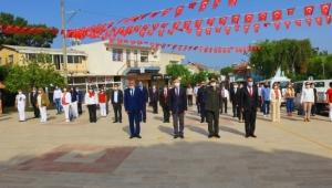 Güzelbahçe'de Sosyal Mesafeli 19 Mayıs Töreni