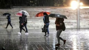 Meteoroloji 5 il için turuncu uyarı yayınladı: Kuvvetli yağış geliyor