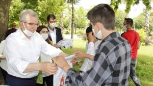 Ödemiş Belediyesi'nden Gençlere 19 Mayıs Hediyesi