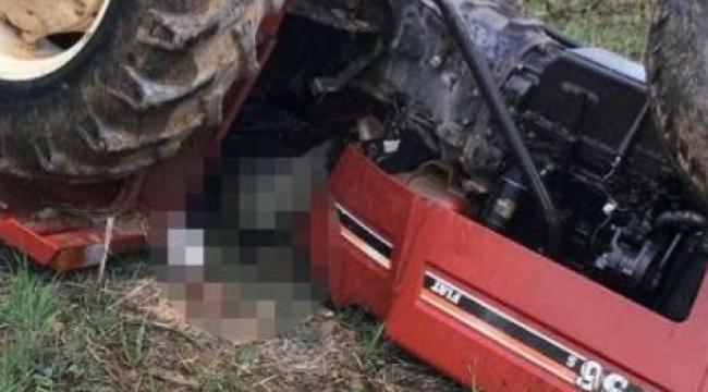 Digor İlçesinde traktör kazası 1 ölü