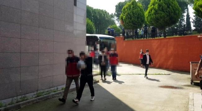 Ardahan'nında bulunduğu Dolandırıcılık operasyonunda 13 kişi tutuklandı
