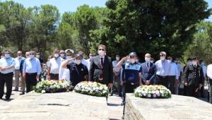 15 Temmuz Şehitleri Urla'da anıldı
