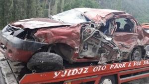 Ardahan Göle- Oltu güzergahında otomobille tır çarpıştı: 1 ölü, 1 yaralı