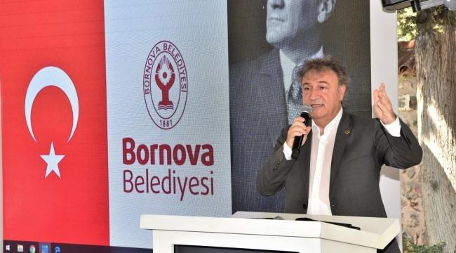 Başkan İduğ, İZKON toplantısında projelerini anlattı