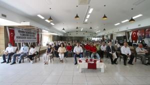 Başkan Sandal, çalışanlarla bayramlaştı