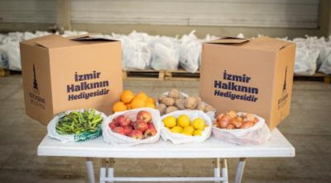 Biz Varız dayanışmasında 200 bin gıda paketi hedefi aşıldı