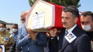 İzmir'de şehit orman memurları için tören