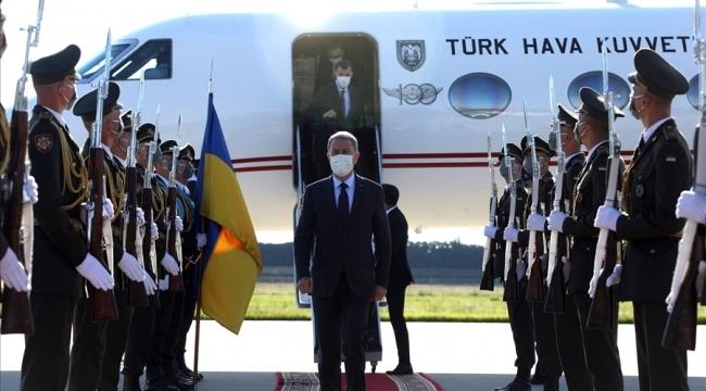 Millî Savunma Bakanı Hulusi Akar Ukrayna'da