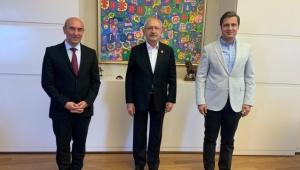 Soyer ve Yücel'den CHP Lideri Kılaçdaroğlu'na Ziyaret