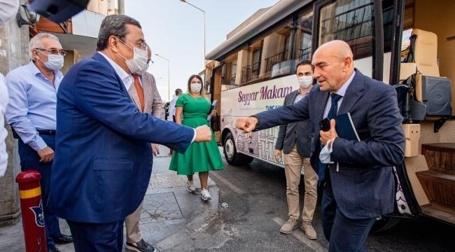 """Başkan Soyer Acil Çözüm projesini Konak'ta başlattı """"Yaralara merhem olacağız"""""""