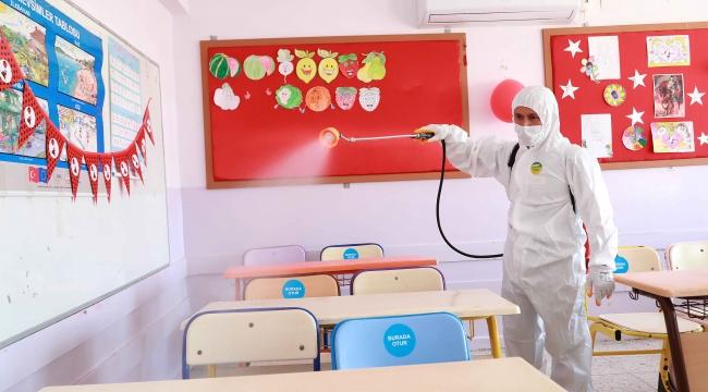 Bayraklı'da okullar eğitime hazır