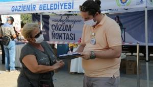Gaziemir Belediyesi Çözüm Noktası ile vatandaşa ulaşıyor