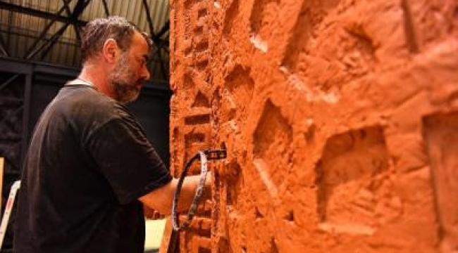 Mübadele Heykeli'nin yapımına başlandı