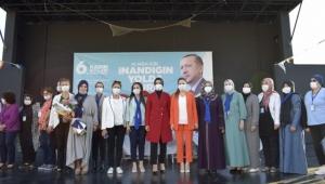 AK Parti'de İlçe Kadın Kolları kongresi Aliağa ile başladı