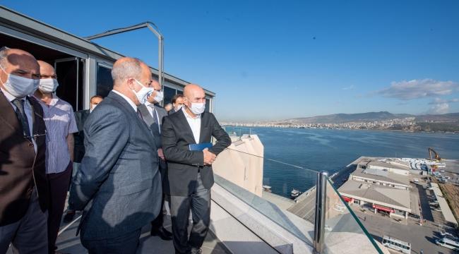 Başkan Soyer'den liman işletmesine ziyaret