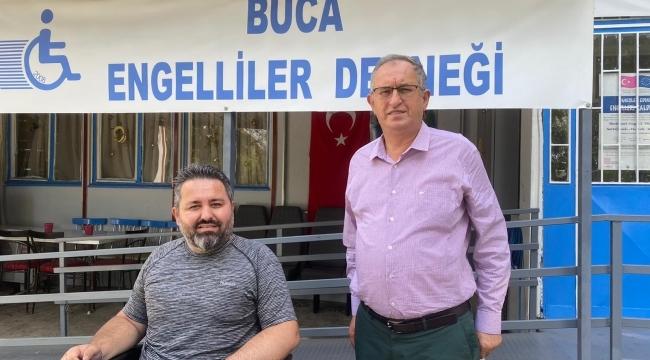CHP'li Sertel'den engelliler derneğine ziyaret
