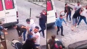 Dehşet! baltalı kavgada Komşunun kafasına baltayla vurdu