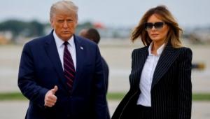 Donald Trump ve eşi Melania koronavirüse yakalandı
