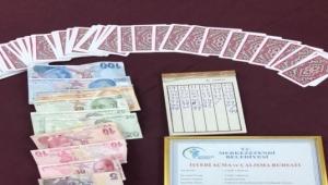 Kumar oynayan 20 şahsa 12 bin 250 TL ceza
