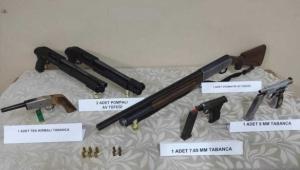 Ardahan'daki kaçakçılık operasyonunda silah ve mühimmat ele geçirildi