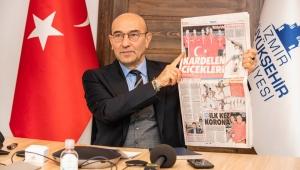 """Başkan Soyer Ege Ekonomik Forumu'nda konuştu:""""Değişimi fırsata çevirmeliyiz"""""""