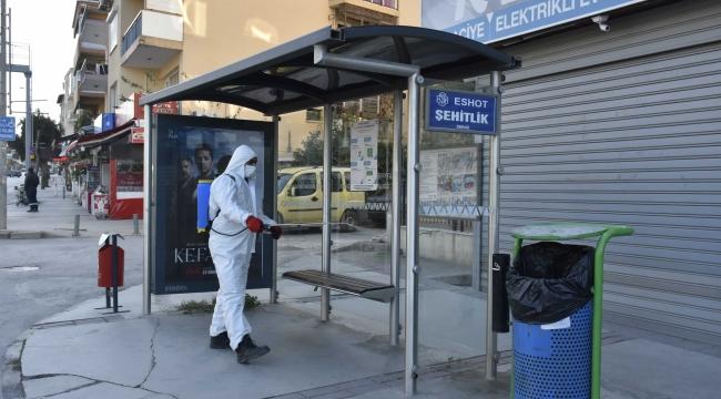 Narlıdere'de her yer ilaçlanıyor!