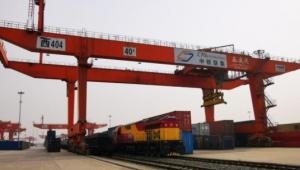 İlk ihracat treni Çin'de resmi töreni bekliyor