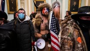 ABD'de Kongre binasındaki kıyafeti ile dikkat çeken kişinin kimliği belli oldu