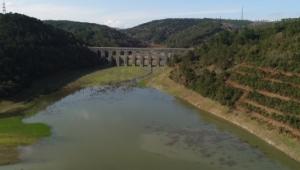 Alibeyköy Barajından sevindiren görüntü: Sular Moğlova Kemerine yaklaştı
