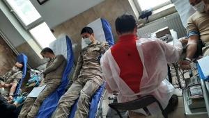 Ardahan İl Jandarma Komutanlığıdan Kan Bağışı Kampanyası