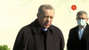 Cumhurbaşkanı Erdoğan Gazetecilerin Sorularını Yanıtladı