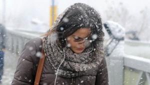 İstanbul'a ilk kar Avcılar, Beylikdüzü, Esenler, Başakşehir ilçelerine düşecek