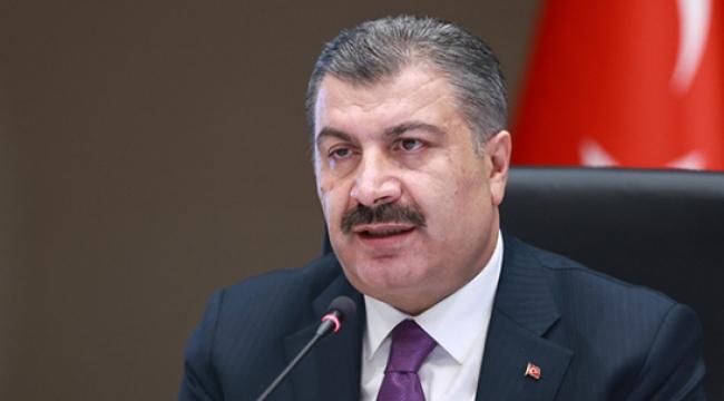 Sağlık Bakanı Koca aşı olan sağlık çalışanı sayısını açıkladı