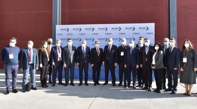 Balkan Masası Bornova'da toplandı
