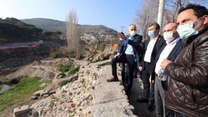 Bergama'yı şahlandıracak olan Selinos Antik Kanal Restorasyon ve Islah Projesi için değerlendirme toplantısı yapıldı