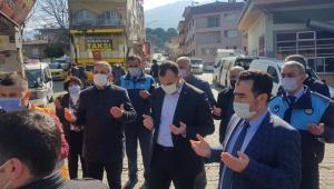 Beydağ'da Gara şehitleri için lokma dağıtıldı