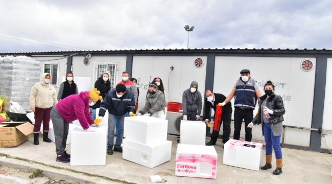 Bornova Belediyesi'nden yürekleri ısıtan hizmet
