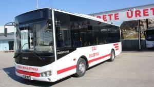 İzmir Büyükşehir Belediyesi'nden Çiğli Belediyesi'ne Otobüs Desteği