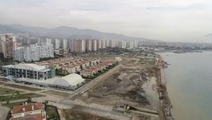 Mavişehir'deki kıyı projesinde yoğun tempo