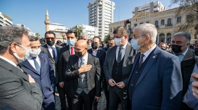 """Başkan Soyer: """"Bu hayırlı duanın felaketlerin son bulmasına da faydası olsun"""""""