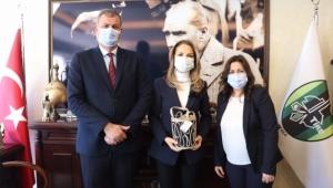 Genel Başkan Nazlıaka'dan Başkan Duran'a Ziyaret