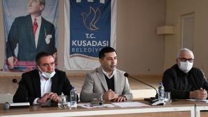 Kuşadası Belediye Başkanı Ömer Günel ve Cumhuriyet Halk Partisi Kuşadası İlçe Örgütü Bir Araya Geldi