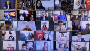 Balçova Dünya Çocuklarına kardeşlik köprüsü oldu