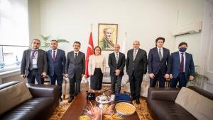 Başkanlar işbirliğinin devam etmesini istedi