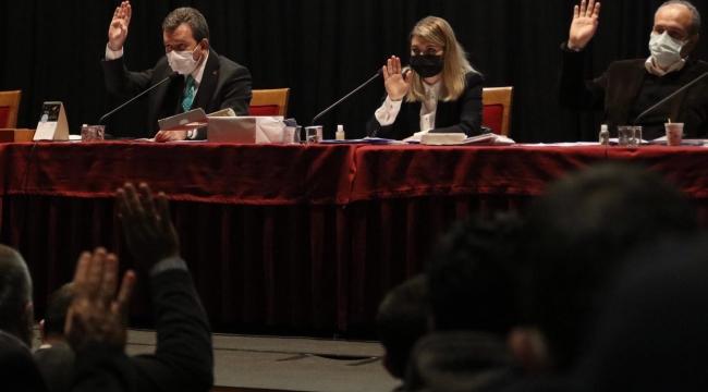 Bergama Belediyesi Nisan Ayı Meclis toplantısı yapıldı