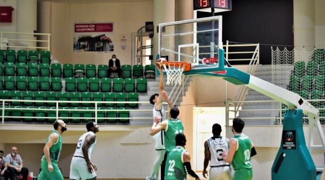 Bornova Belediyespor'dan Play-Off yolunda kritik galibiyet