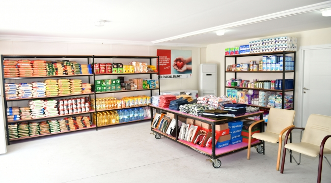 Çiğli'de İhtiyaç Sahipleri için Sosyal Market Açılıyor