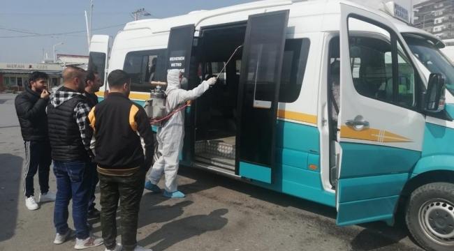 İzmir'de kamuya açık 354 bin nokta dezenfekte edildi